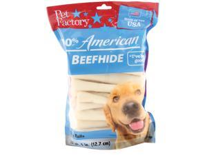 Pet Factory 100% American Beefhide Chip Rolls Dog Chew, 5 Inch/22 Pack - 78107