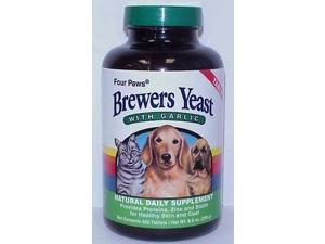 Brewers Yeast With Garlic for Dog,  Size: 500 COUNT