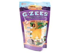 G-zees Grain-free Treats For Cats for Cat,  Color: Savory Salmon , Size: 3 OUNCE