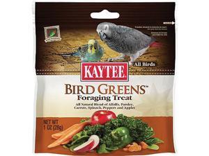 Kaytee Products Inc Foraging Treat Bird Greens - All Birds, 1 Ounce - 100510282