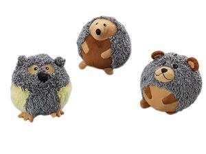 Ethical Pet Butterballs Forest Animals, Assorted, 6 Inch - 4143