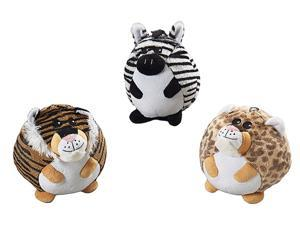 Ethical Pet Butterballs Jungle Animals, Assorted, 6 Inch - 4145