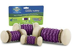 Busy Buddy Treat Holding Nobbly Nubbly for Dog,  Size: EXTRA SMALL