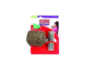 Kong Company Scratch Apple Cat Toy, Multi, Small - CA45
