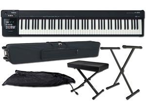 Roland A-88 88-key MIDI Keyboard Controller Package