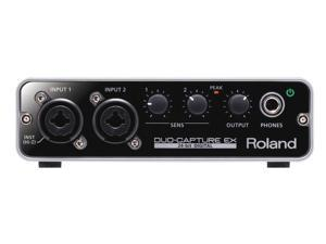 Roland UA-22 Duo-Capture EX USB Audio Interface Refurbished