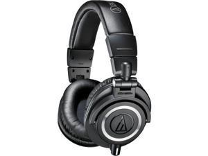 Audio-Technica ATH-M50x Close-back PRO Studio Monitor Headphones Black