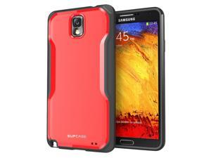SUPCASE Samsung Galaxy Note 3/Note III Unicorn Beetle Premium Hybrid Case (Red/Black) - Not Fit Samsung Galaxy Note 2/Note II N7100