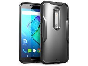 Moto X Pure Edition Case, SUPCASE Unicorn Beetle Series Premium Hybrid Protective Bumper Case for Motorola Moto X Style / Pure Edition (2015 Release) (Frost/Black)