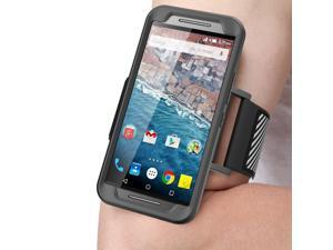 Nexus 5X Armband, SUPCASE Google Nexus 5X Armband Easy Fitting Sport Running Armband with Premium Flexible Case Combo for Google Nexus 5X (2015 Release)