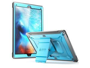 iPad Pro Case, SUPCASE [Heavy Duty] Apple iPad Pro 12.9 inch 2015 Case [Unicorn Beetle PRO] Full-body Rugged Hybrid Protective Case without Built-in Screen Protector & Dual Layer Design (Blue/Black)