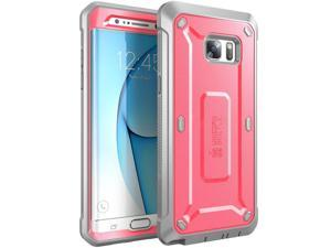Samsung Galaxy Note 7 Case, SUPCASE Full-body Rugged Holster Case for Samsung Galaxy Note 7 (2016 Release), Unicorn Beetle PRO Series (Pink/Gray)