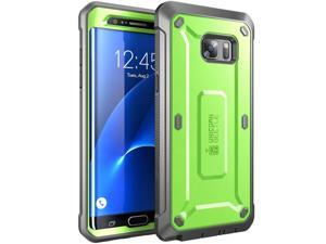 Samsung Galaxy Note 7 Case, SUPCASE Full-body Rugged Holster Case for Samsung Galaxy Note 7 (2016 Release), Unicorn Beetle PRO Series (Green/Gray)