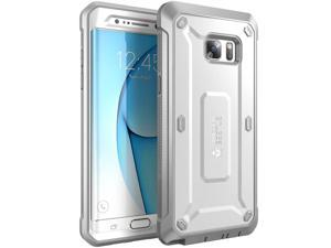 Samsung Galaxy Note 7 Case, SUPCASE Full-body Rugged Holster Case for Samsung Galaxy Note 7 (2016 Release), Unicorn Beetle PRO Series (White/Gray)