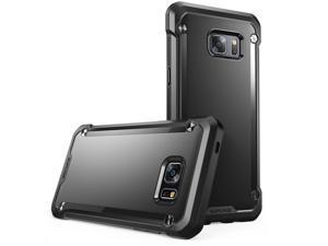Samsung Galaxy Note 7 Case, SUPCASE Unicorn Beetle Series Premium Hybrid Protective Black Back Case for Samsung Galaxy Note 7 2016 Release (Black/Black)
