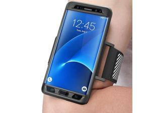 Samsung Galaxy Note 7 Case, SUPCASE Easy Fitting Sport Running Armband with Premium Flexible Case Combo for Samsung Galaxy Note 7 2016 Release/Compatible with Galaxy Note 7 (Black)
