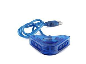 Dual Playstation / PS2 Controllers Adapter for PC