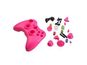 Pink Replacement Xbox 360 Controller Shell Cover + Buttons