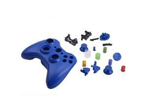 Blue Replacement Xbox 360 Controller Shell Cover + Buttons