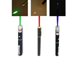 3pc Green, Red & Blue/Violet 5mW Class 3A Laser Pointers