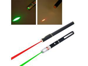 2pc Green & Red 5mW Class 3A Laser Pointers