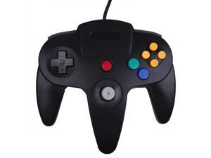 Nintendo 64 N64 Classic Wired Game Controller (Black)