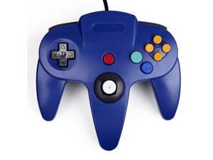 Nintendo 64 N64 Classic Wired Game Controller (Blue)