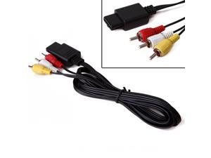 6 ft. Audio/Video RCA Cable for Nintendo GameCube, N64, & SNES