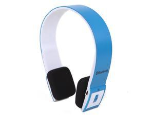 Slim Wireless Bluetooth Stereo Headphones w/ USB 2.0 Bluetooth Dongle Adapter (Blue)