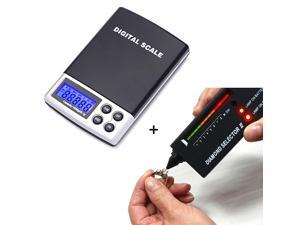 Diamond Test Kit Preciouos Metals And Gem Tester + Digital Pocket Scale