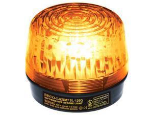 Seco-Larm Enforcer Xenon Strobe Light, 24VDC, Amber Lens (SL-126-A24Q/A)