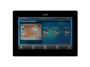 Leviton OmniTouch 7 Security & Automation Color Touchscreen, Black (99A00-2)