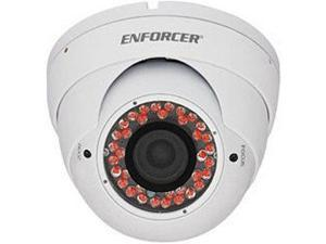 Seco-Larm Enforcer Ball Camera, 420TV, 3.66mm, 24 LEDs, White (EV-122C-DVH3Q)
