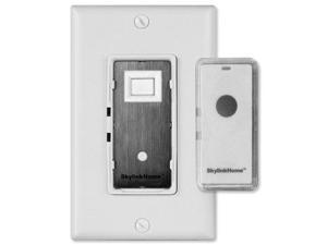SkylinkHome Wall Switch with Snap-On Remote (WE-318)