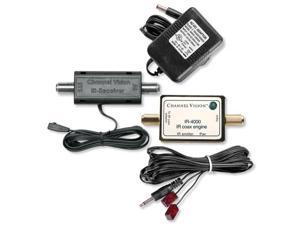 Channel Vision Coax IR Starter Kit (IR-4500)