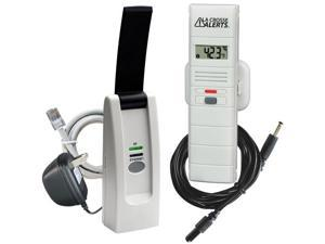 La Crosse Alerts Temperature & Humidity Monitor & Alert Kit with Dry Probe (926-25101-WGB)