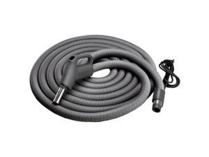 NuTone Central Vacuum Current-Carrying Crushproof Hose, 30 Ft. (CH515)
