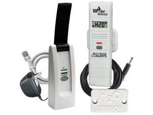 La Crosse Alerts Temperature & Humidity Monitor & Alert Kit with Water Probe (926-25104-WGB)