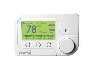 Leviton RC-1500WHZB Lumina RF Universal ZigBee Thermostat
