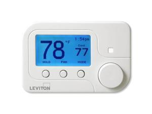 Leviton Omnistat2, Conventional & Heat Pump, White (RC-1000WH)