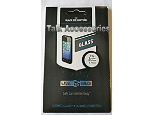 "Apple iPhone 6 Plus 5.5"" Gadget Guard - Black Ice Tempered Glass Screen Guard Protector GEGEAP000022"
