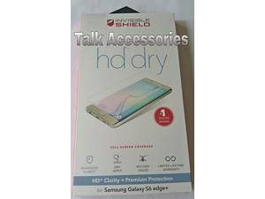 Samsung Galaxy S6 EDGE Plus ZAGG Invisible Shield Screen Protector HD DRY - G6PHDS-F00
