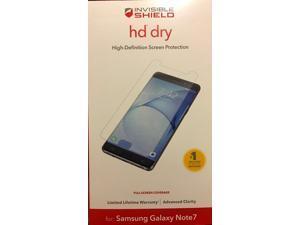 Samsung Galaxy Note 7 ZAGG Invisible Shield Screen Protector GN7HDS-F00
