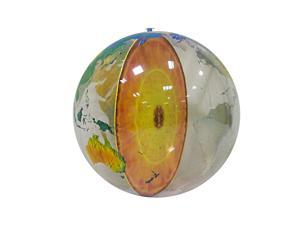 Earth's Core Inflatable Globe 36""