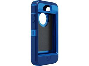 New OEM Otterbox iPhone 4 4S Ocean Blue Defender Series Case Cover ONLY (Bulk Packaging, No Retail Package) HOLSTER CLIP IS NOT INCLUDED