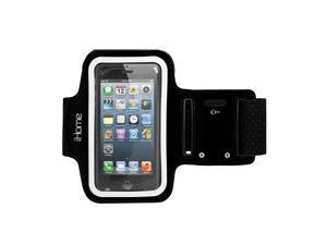 New In Box Original OEM iHome IH-5P141B Sport Armband for iPhone 4/4S/5/5S/5C and iPod touch 3G/4G -Black