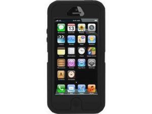iPhone 5 Full Armor 3 Layers Protecton Defending Case - Black