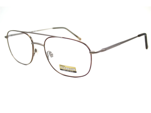 Fossil Meteor Eyeglasses-In Color-Pewter Havana-Size-54/19/140