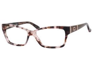 GUCCI Eyeglasses 3559 0L76 Havana Rose 53MM