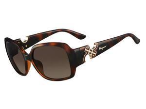 SALVATORE FERRAGAMO Sunglasses SF642S 214 Tortoise  57MM